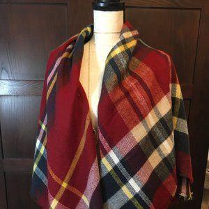 Final Price🌼Zara Oversize Blanket Scarf